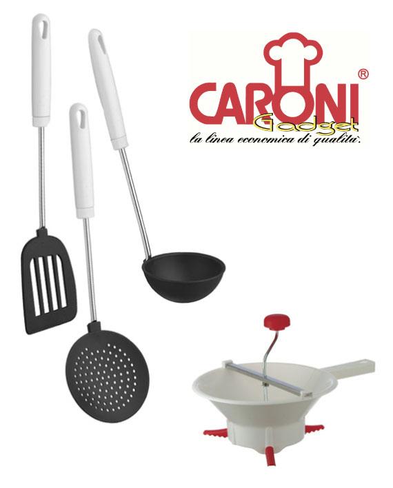 Utensili da cucina caroni cookware for Kit utensili da cucina